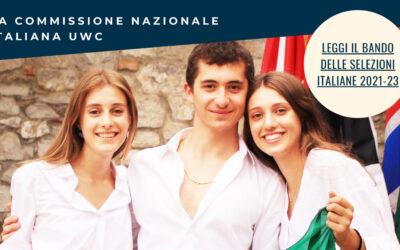 BORSA DI STUDIO PER UNO STUDENTE CAMPANO PER FREQUENTARE UNO DEI 18 COLLEGI DELL'UNITED WORLD COLLEGES