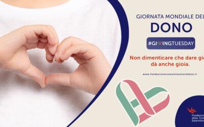 #GivingTuesday: Giornata mondiale dedicata al Dono!