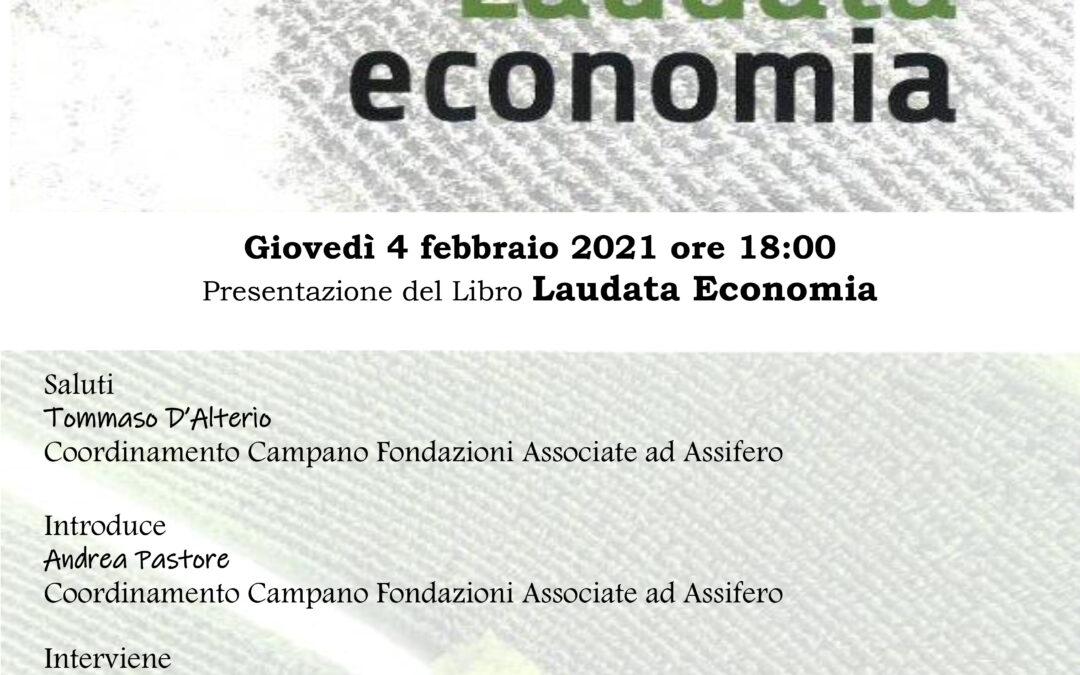 """Presentazione del libro """"Laudata economia"""" di Zamagni"""