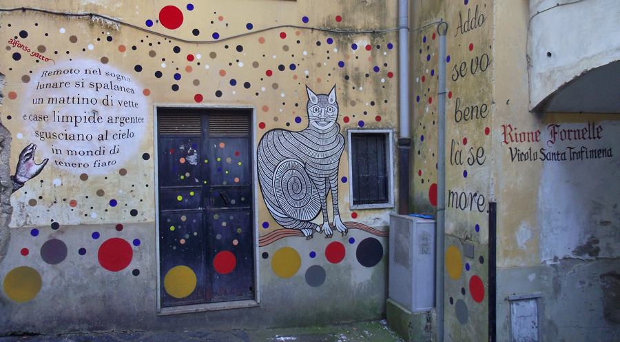 Sostieni Muri d'Autore – Parco della Poesia di strada