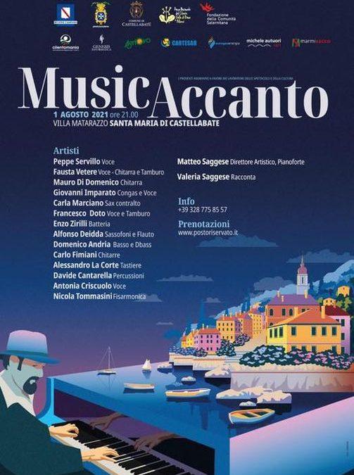 Musicaccanto 1° agosto a Castellabate
